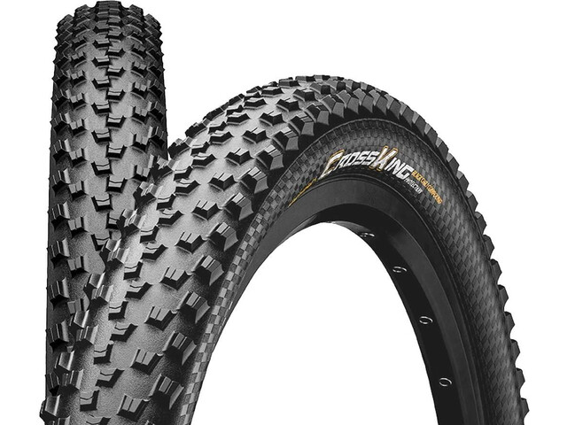 "Continental Cross King 2.3 Foldedæk 26"" TL-Ready E-25, black"